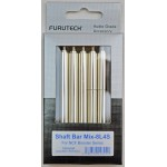 Furutech NCF Booster Extension Shaft Bar Set (8 long & 4 short Bars)