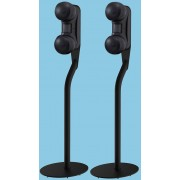 Gallo Acoustics Strada 2 Black Side Speakers with Floorstands (Pair)