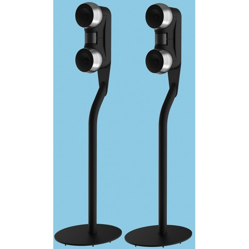 Gallo Acoustics Strada 2 Stainless-Steel Side Speakers with Floorstands (Pair)