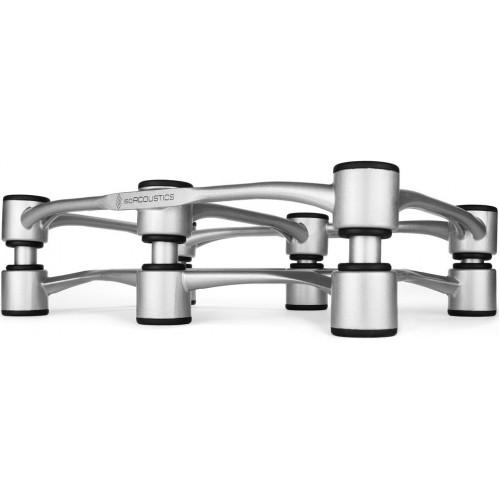 IsoAcoustics Aperta 300 Silver Aluminum Speaker Isolation Stand