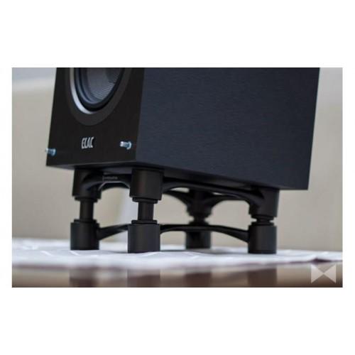 IsoAcoustics Aperta Black Aluminum Speaker Isolation Stands (2-Pack)