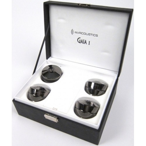 IsoAcoustics GAIA I Stainless-Steel Speaker Isolation Feet/Stands (4-Pack)