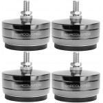 IsoAcoustics GAIA TITAN-CRONOS Stainless-Steel Speaker Isolation Feet/Stands (4-Pack)
