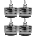 IsoAcoustics GAIA TITAN-THEIS Stainless-Steel Speaker Isolation Feet/Stands (4-Pack)