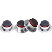 IsoAcoustics STAGE 1 Speaker/Amplifier Isolation Feet (4-Pack)