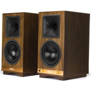 Klipsch The Sixes Heritage Wireless Powered Speakers (Walnut)