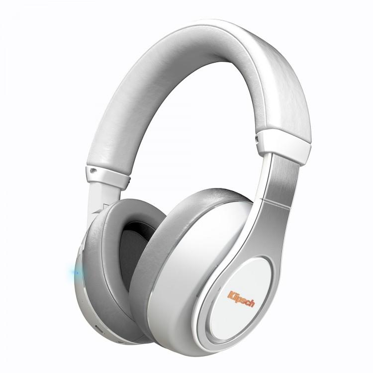 klipsch reference over ear bluetooth headphones white. Black Bedroom Furniture Sets. Home Design Ideas