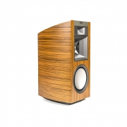 Klipsch Palladium Series P-17B Bookshelf Speaker (Natural Zebrawood)