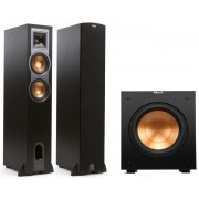 Klipsch R-26F Floorstanding Speakers and R-10SW Subwoofer Combo