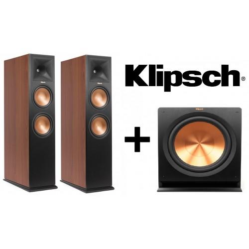 Klipsch RP-280FA Floorstanders with R-115SW Sub Speaker Package