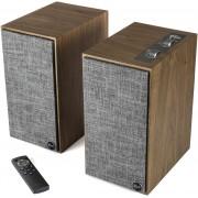 Klipsch The Fives Powered Bookshelf Speakers (Walnut)