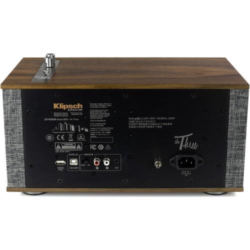 Klipsch The Three II Heritage Wireless Audio System (Walnut)