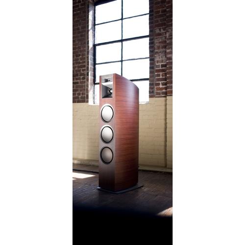 klipsch p 37f floorstanding speaker espresso zebrawood. Black Bedroom Furniture Sets. Home Design Ideas