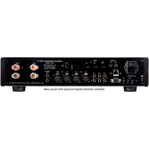 Krell K-300i Integrated Stereo Amplifier (Black)