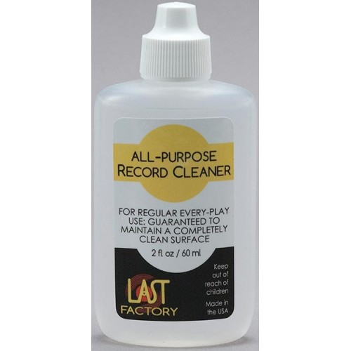LAST Factory All-Purpose Record Cleaner (2 Oz.)