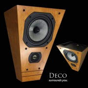 Legacy Audio Deco On-Wall Speakers (Exotic Finishes)