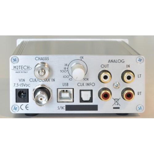 M2Tech EVO PhonoDAC TWO DXD-DSD A/D-D/A Converter / Phono Preamp