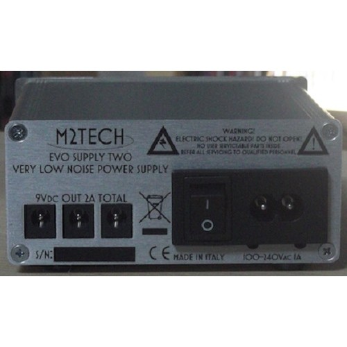 M2Tech Evo Supply Two Ultra Low Noise Power Supply