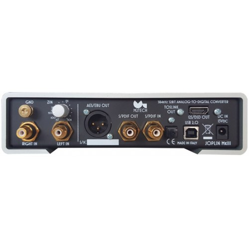 M2Tech Joplin MkIII Phono Preamp / A/D Converter with I2S output