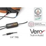 "MIT Vero Reference 1/4"" TRS/1.5m Headphone Interface for AUDEZE LCD headphones"