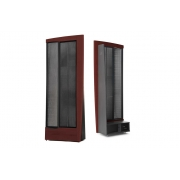 MartinLogan CLX ART Full-range Electrostatic Speakers-dark cherry