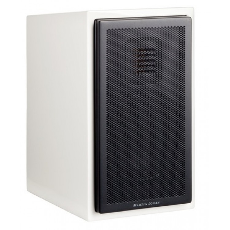 MartinLogan Motion 15 5 1 4 2 Way Bookshelf Speaker In White