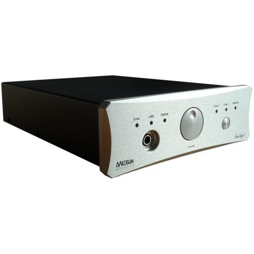 Metrum Acoustics Amethyst DAC / Headphone Amplifier (Silver)