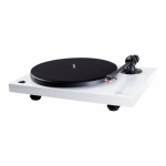 Music Hall MMF-2.2WH High Gloss White Audiophile Turntable