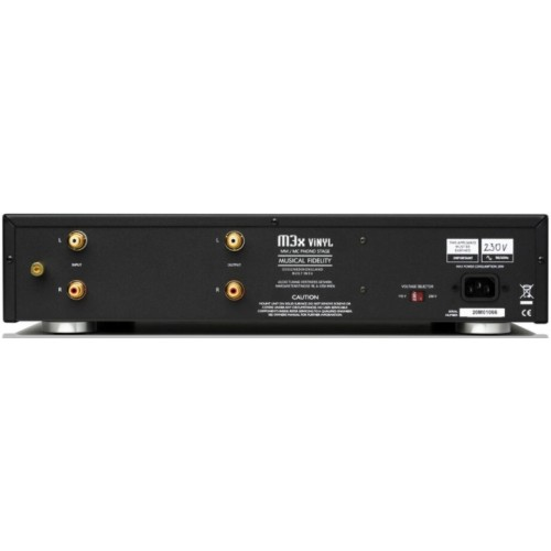 Musical Fidelity M3x Vinyl Fully Discrete Phono Stage (Black)