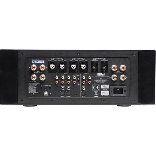 Musical Fidelity M8xi Super Integrated Amplifier (Black)