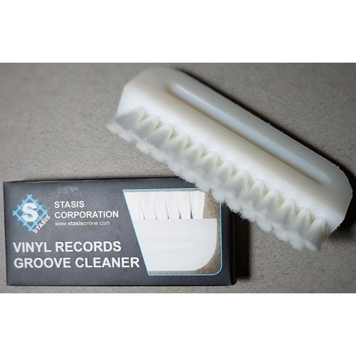 Stasis Groove Cleaner Wet/Dry Record Cleaning Brush