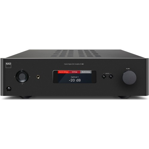 NAD C 388 Stereo Integrated Amp with DAC and Bluetooth