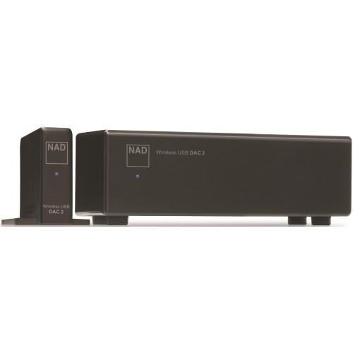 NAD DAC 2 Wireless 24Bit/192kHz USB Digital to Analog Converter
