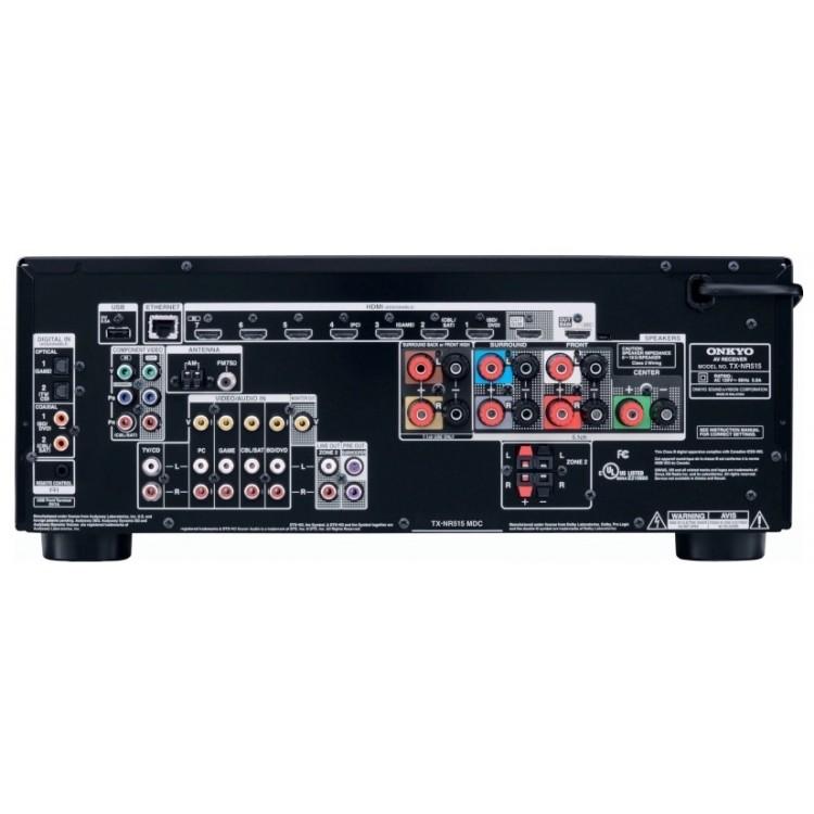 Onkyo TX-NR515 7.2 Channel AV Network Receiver