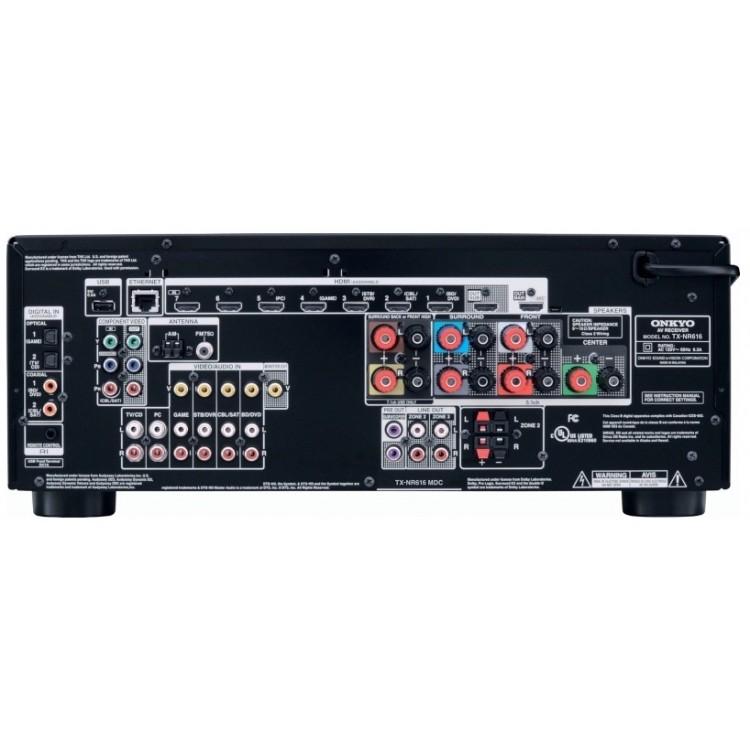 Onkyo TX-NR616 THX Select 7.2 channel AV Network Receiver
