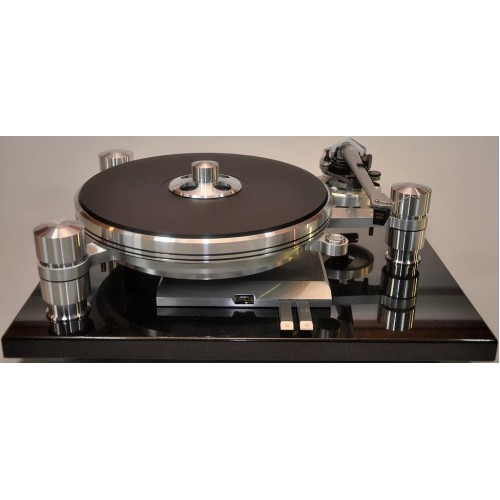 Oracle Audio Delphi MkVI Reference Granite Base Turntable with Turbo MkII Power Supply
