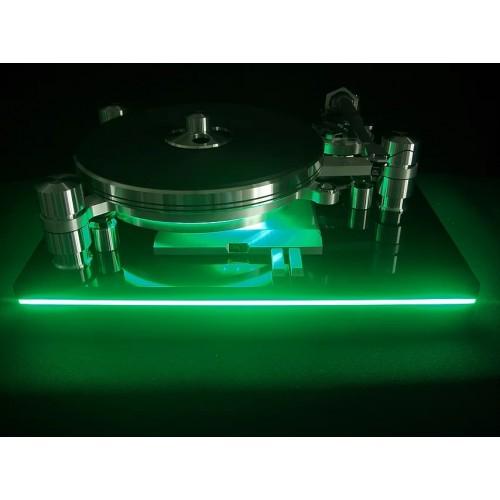 Oracle Audio Delphi MkVI Signature Turntable with LED Lighting & Turbo MkII Power Supply