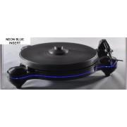 Oracle Audio Origine Turntable (Black Plinth / Neon Blue Insert)