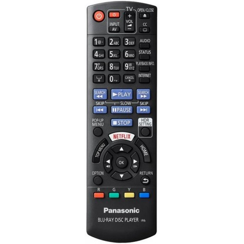 Panasonic DP-UB820-K Streaming 4K Ultra HD Hi-Res Audio Wi-Fi Built-In Blu-Ray Player