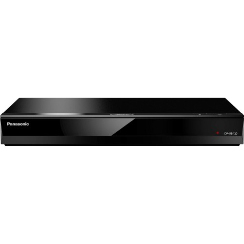 Panasonic DP-UB420-K Wi-Fi Streaming 4K Ultra HD Hi-Res Audio Blu-Ray Player