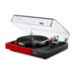 Perpetuum Ebner PE 2525 Turntable with Dust Cover (Red)