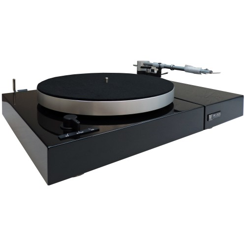 Perpetuum Ebner PE 2525 Turntable with Dust Cover (Black)