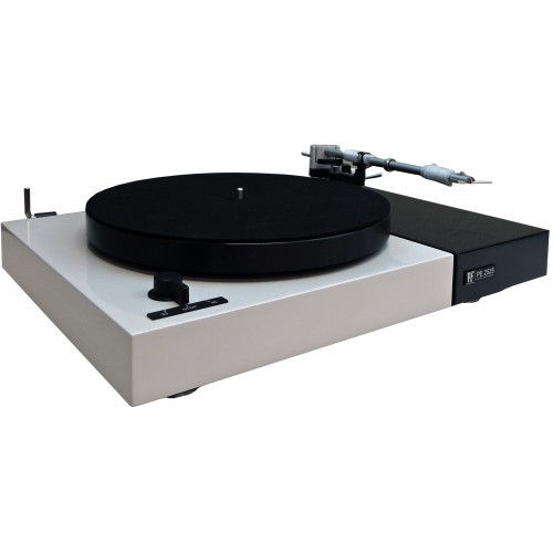 Perpetuum Ebner PE 2525 Turntable with Dust Cover (Light Gray)