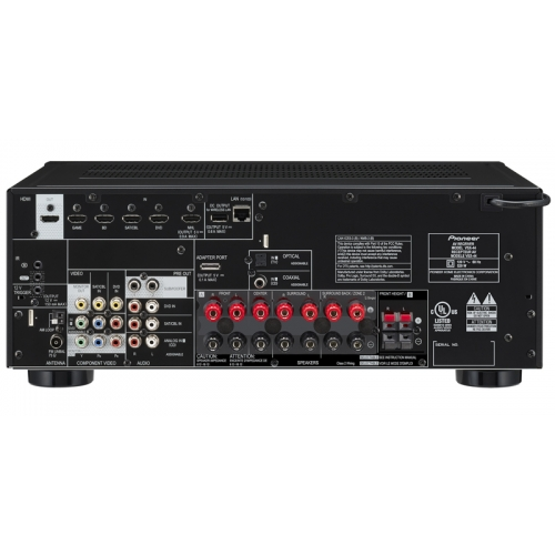 Pioneer Elite VSX-44 7.2 Channel Networked AV Receiver with HDMI 2.0
