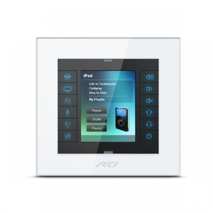 Rti Kx2 2 8 Inch In Wall Touchpanel Keypad