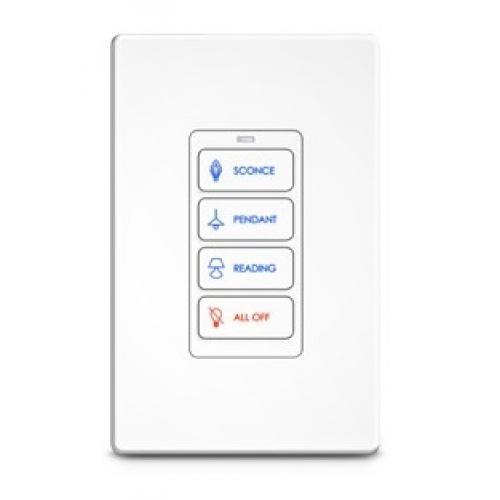 RTI RK1-4 key In-Wall Keypad