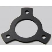 Rega 2mm Aluminium/Anodised Black Arm Height Adjustment Spacer