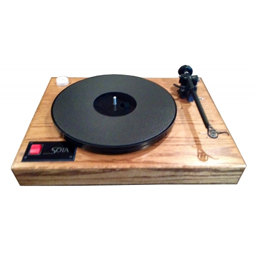 SOTA COMET Turntable in Dark Oak