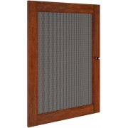 Salamander Designs Synergy SD30W/P Walnut/Perforated Door