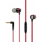 Sennheiser CX 300S In-Ear Headphones with One-Button Smart Remote (Red)